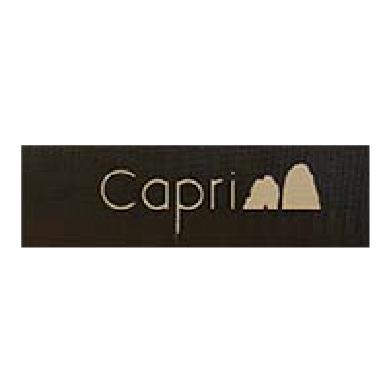 Capri tobacco pipe manufacturer logo at Pap's Cigar Co. in Lynchburg, Virginia