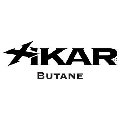 Xikar butanne fuel logo at Pap's Cigar Co. in Lynchburg, Virginia